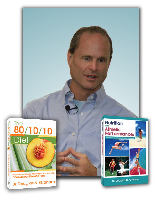 About dr. Douglas graham | vegan raw food health and fitness, 80.