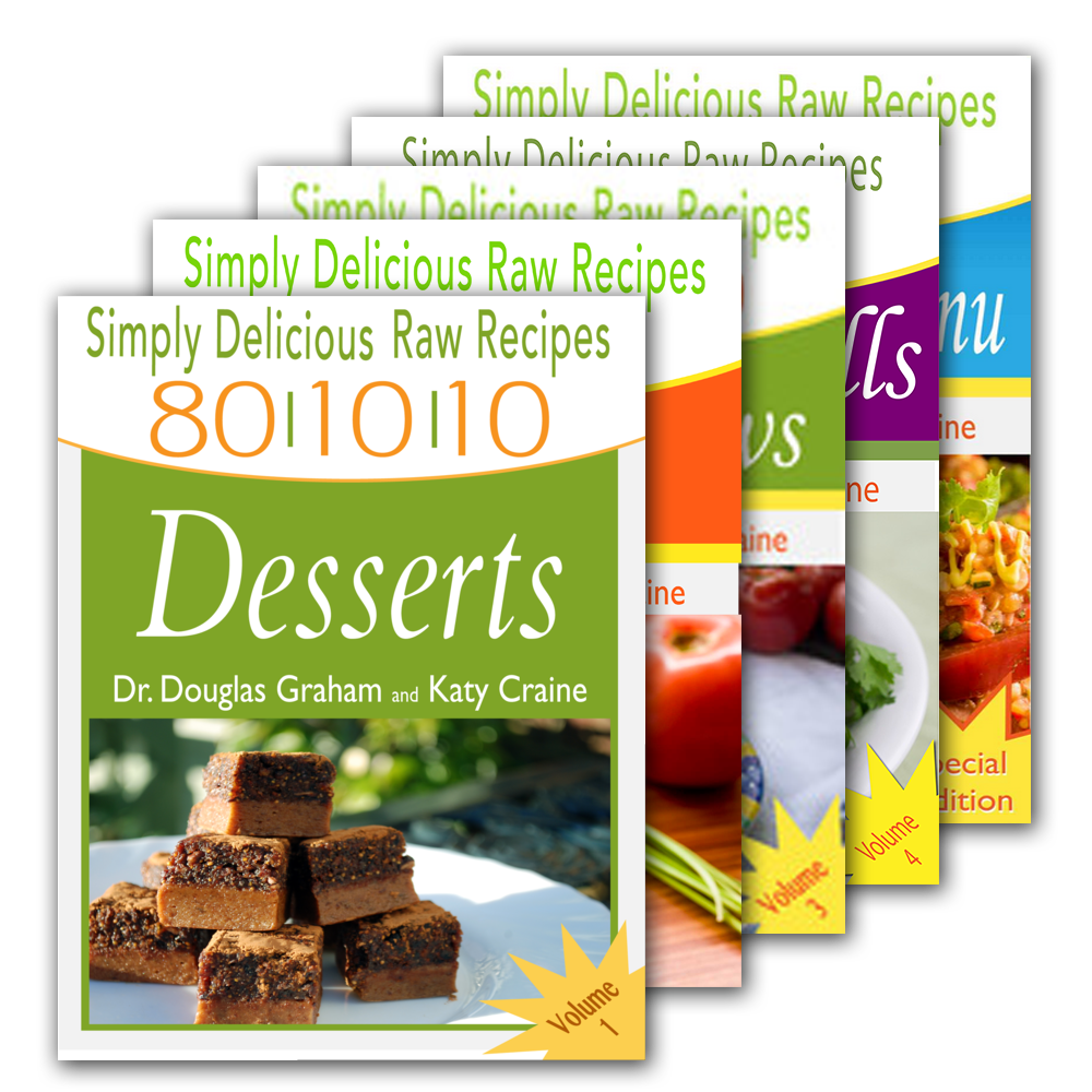 All 5 simply delicious recipe books in pdf by dr douglas graham and katy craine forumfinder Choice Image