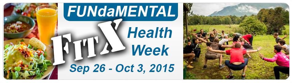 FitX Health Week