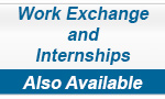 Work Exchange and Internships Available